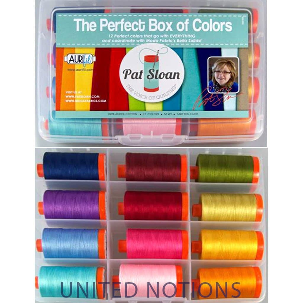 Aurifil Box of Colors Thread Set