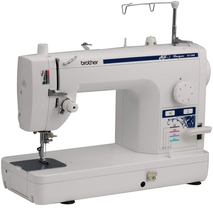 Brother Designio Series DZ1500F High Speed Straight Stitch Sewing Machine for Free Motion Quilting