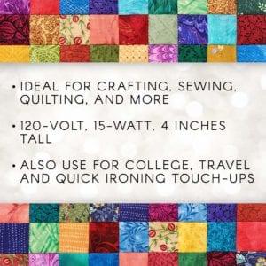 Darice 1204-59 Mini Crafting Iron Assorted Colors