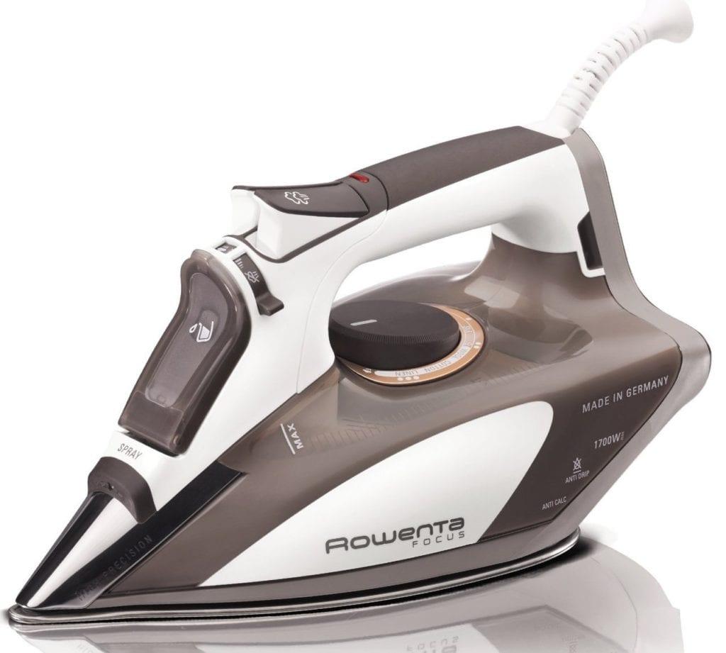 Rowenta 1700-Watt Micro Steam Iron - Best Iron for Quilting