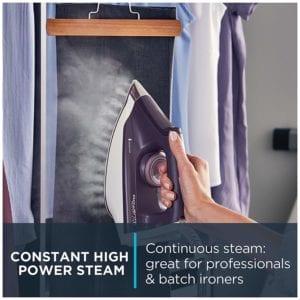 Rowenta DG8520 Perfect Steam 1800-Watt Eco Energy Steam Iron Station