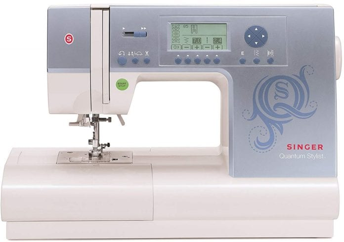 SINGER Quantum Stylist 9980 Computerized Portable Sewing Machine for Free Motion Quilting