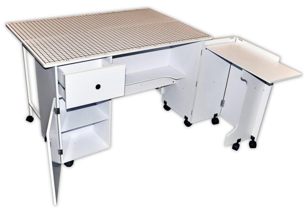 Sullivans Quilters Table - Quilting Cabinets