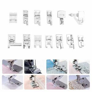 32-42 Pcs Blind Stitch Darning Presser Foot Feet Kit Set For Brother Singer Janome