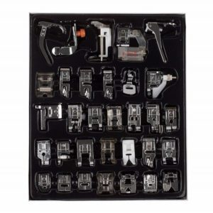 32Pcs Sewing Machine Accessories Presser Feet Kit Set For Brother Singer Janome