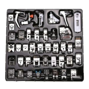 42Pcs Sewing Machine Accessories Presser Feet Kit Set For Brother Singer Janome