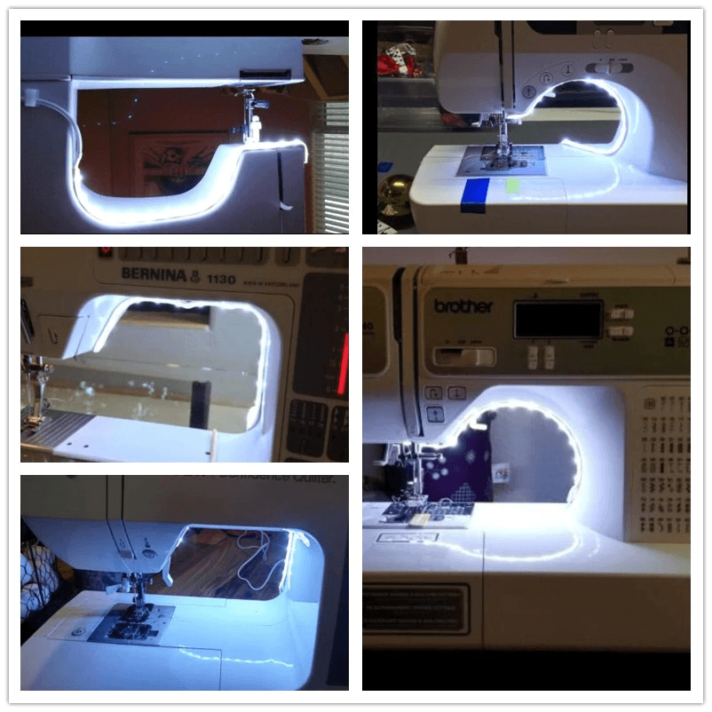 ewing Machine LED Light Strip Light Kit – Flexible USB Sewing Working LED Lights