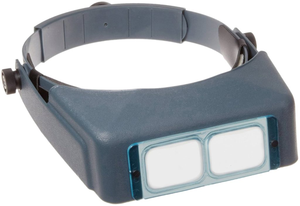 Donegan DA-5 OptiVisor Headband Magnifier