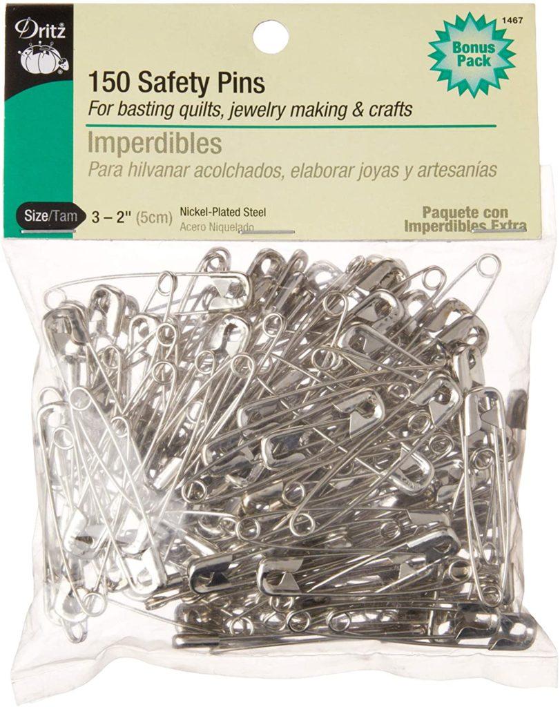 Dritz 1467 Safety Pins