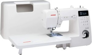 Janome TS200Q Sewing Machine, White With Hard Cover