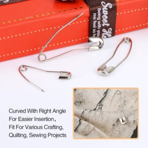 Outus Curved Safety Pins