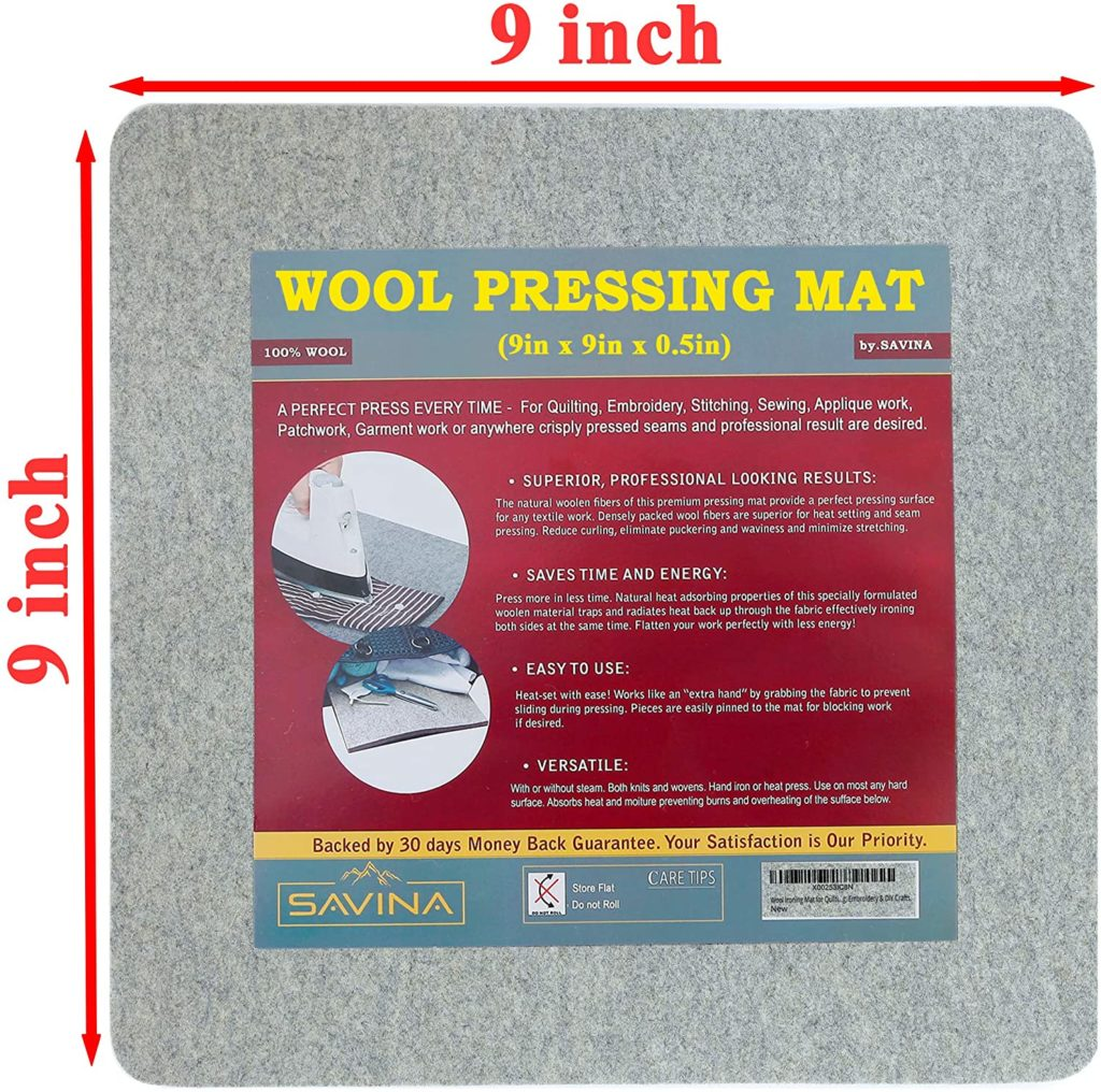 Savina Small Wool Pressing Mat