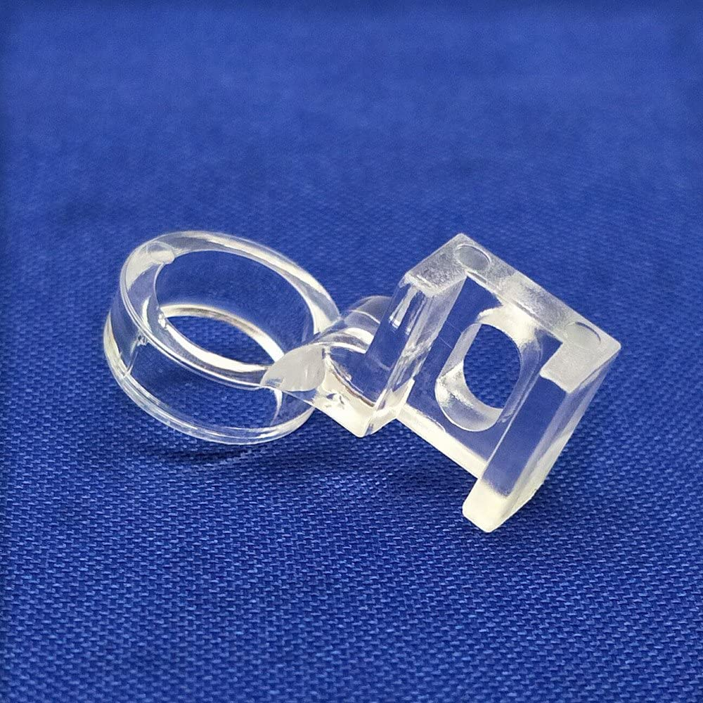 YEQIN Low Shank Clarity Clear Ruler Patchwork Sewing Presser Foot 1/4'' Quilting Fits Singer, Brother, Janome