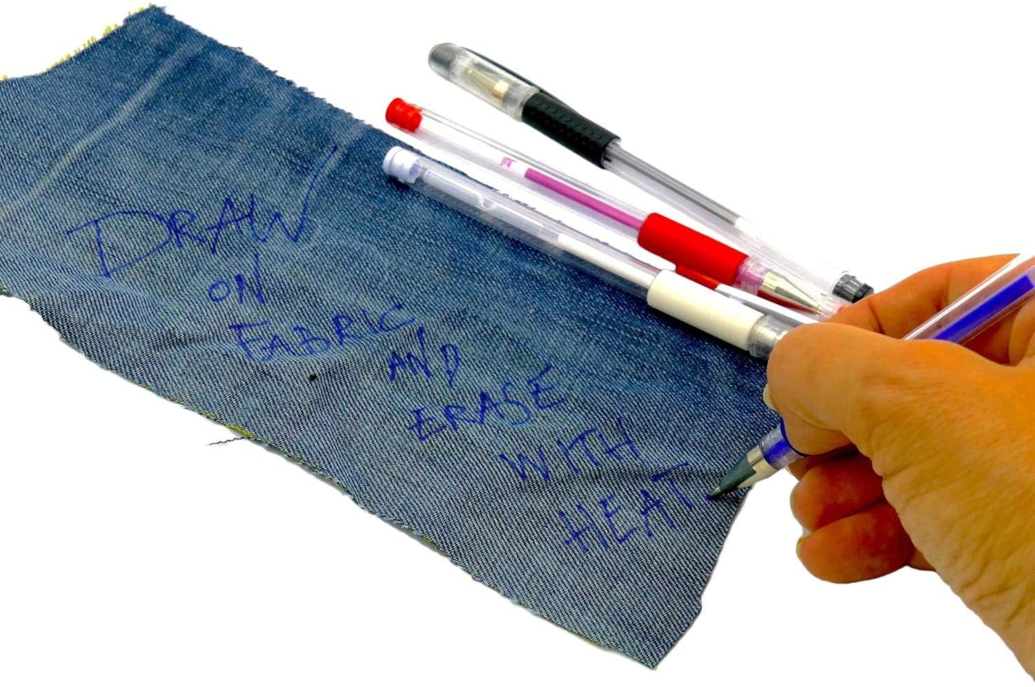 Madam Sew Heat Erasable Fabric Marking Pens as Gift for Quilter
