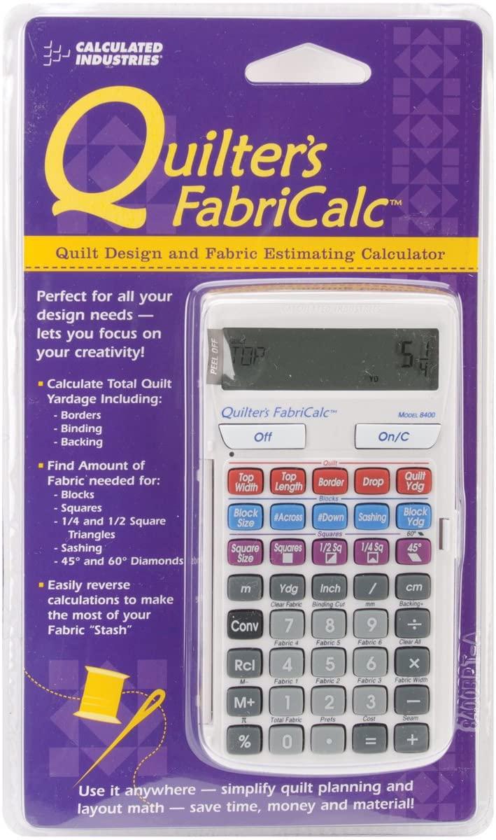 Calculated Industries FabriCalc Fabric Estimating Calculator