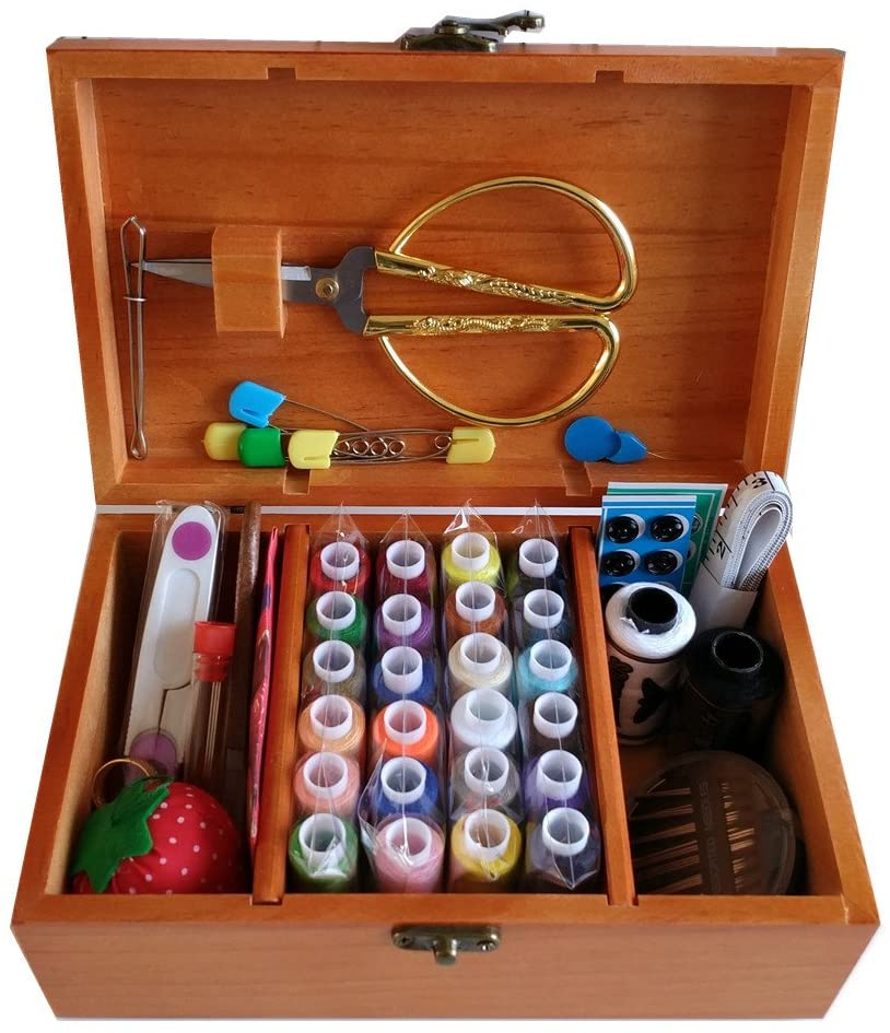 Summer Chuxia Wooden Sewing Kit