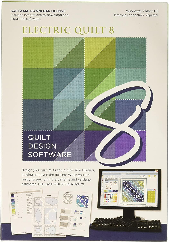 Electric Quilt 8 Design Software
