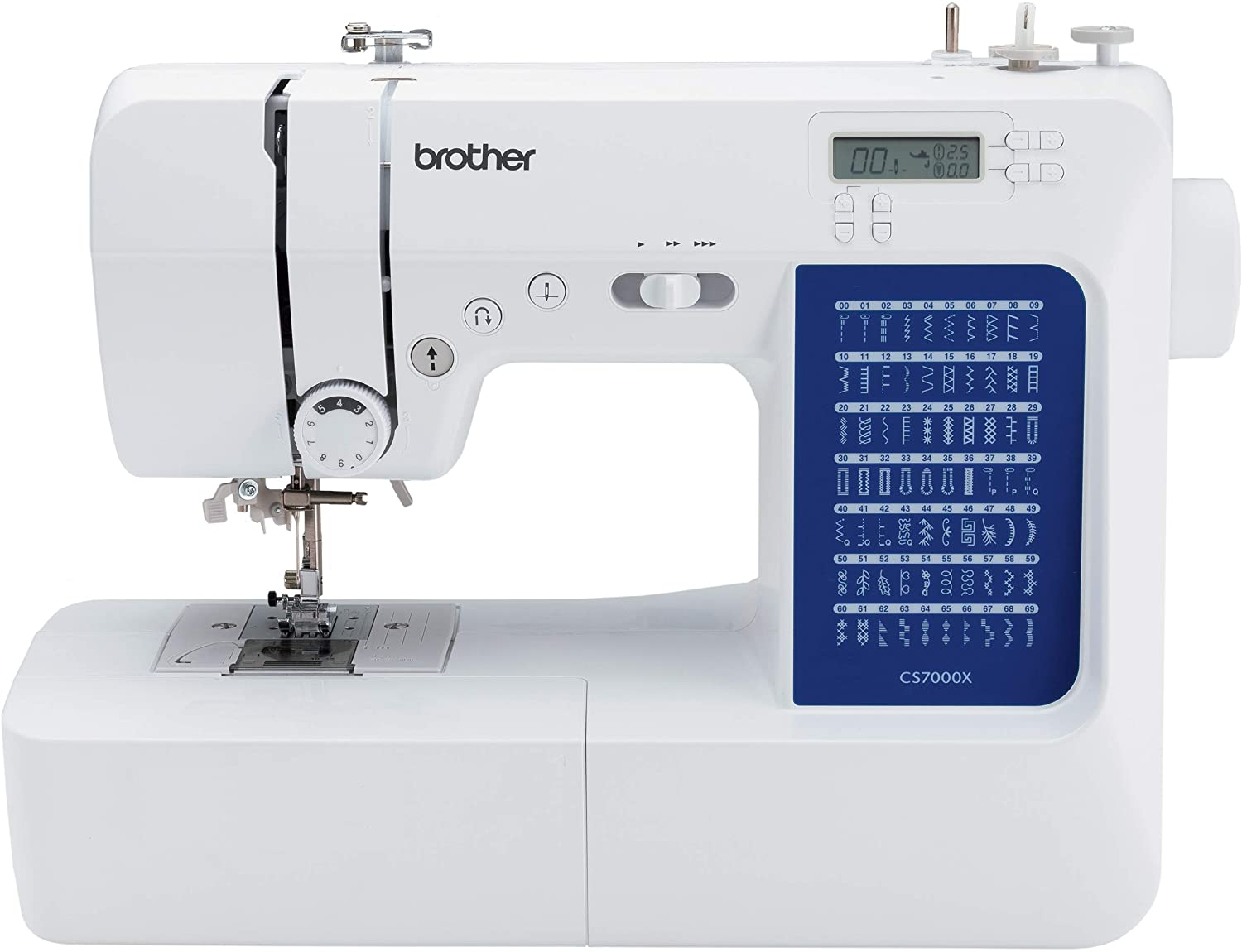 Brother CS7000X Computerized Sewing and Quilting Machine - Best Sewing Machine for Quilting Under $500