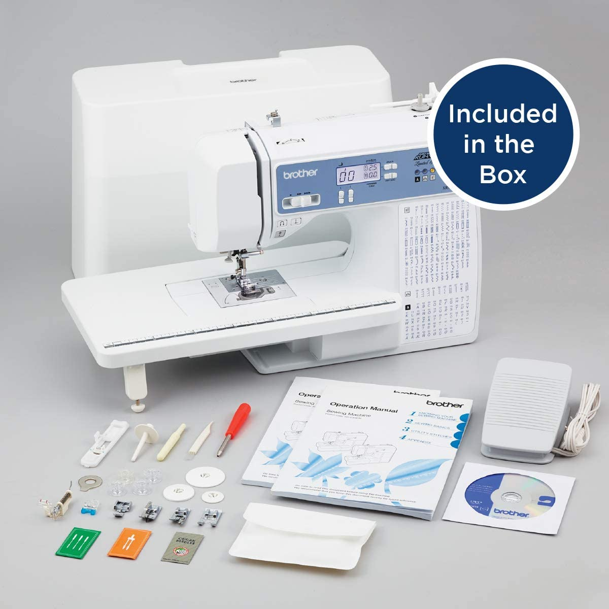 Brother XR9550PRW Sewing andQuilting Machine