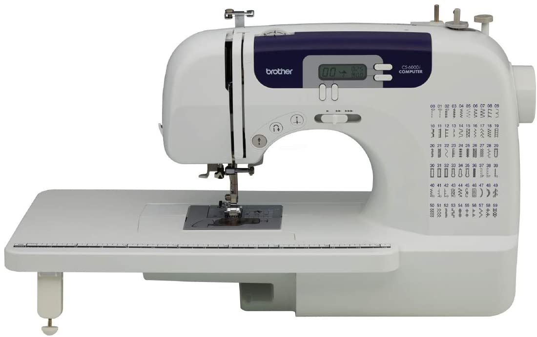 Brother CS6000i Sewing and Quilting Machine - Best Sewing Machine for Beginner Quilters