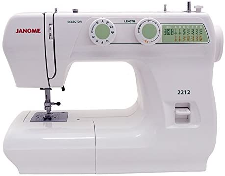 Janome 2212 Sewing Machine - Best Janome Sewing Machine for Quilting