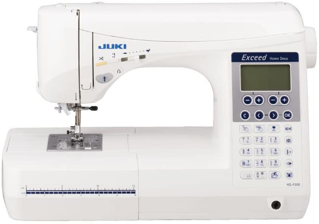 Juki HZL-F300 Sewing and Quilting Machine - Best Large Throat Sewing Machine for Quilting