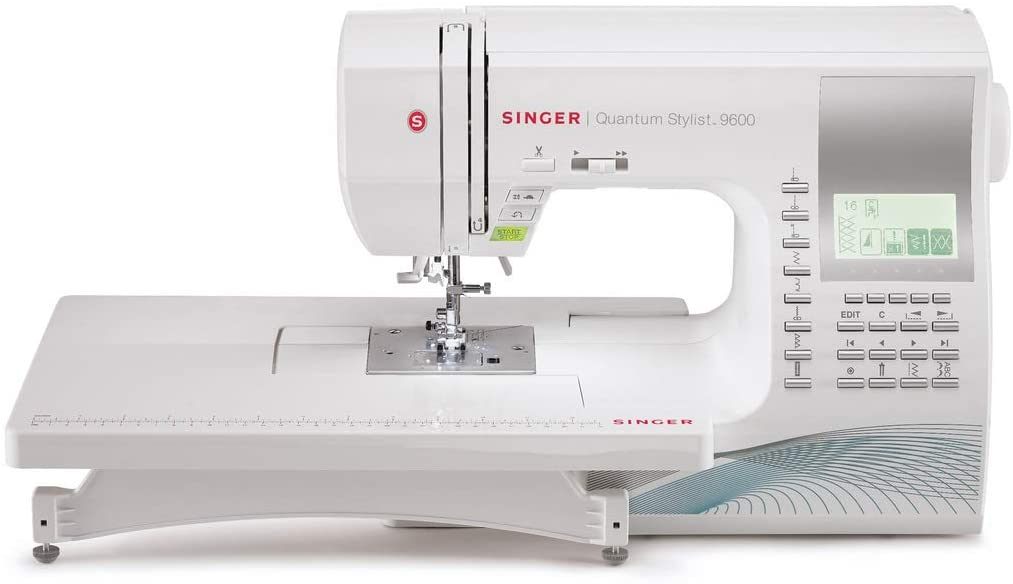 Singer Quantum Stylist 9960 Sewing Machine - Best Large Throat Sewing Machine for Quilting